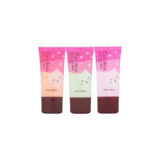 Cats Wink Shiny Skin Base - Увлажняющий крем-база под макияж, 30 гр
