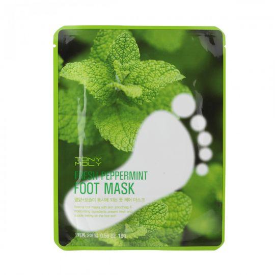 Fresh Peppermint Foot Mask - Маска для ног с экстрактом мяты перечной