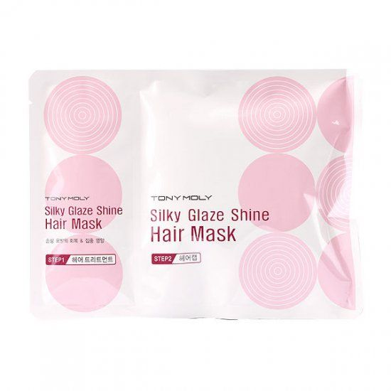 Silky Glaze Shine Hair Mask - Маска для волос восстанавливающая