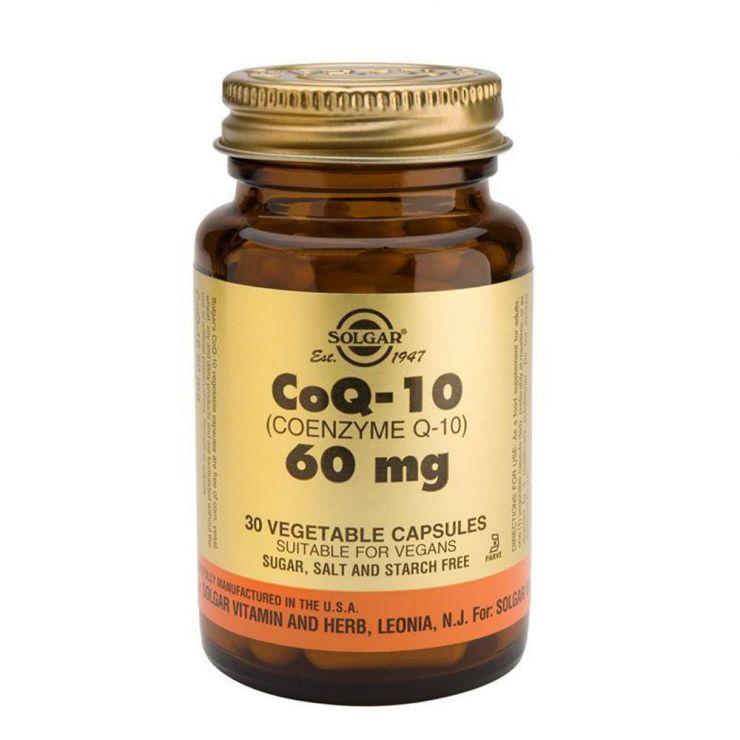 СОЛГАР Коэнзим Q-10 60 мг (30 капсул)