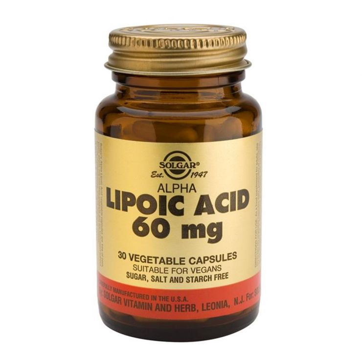 СОЛГАР Альфа-липоевая кислота (30 капсул)