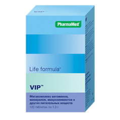 Лайф формула VIP мегакомплекс №120 табл