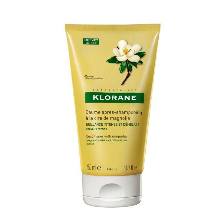 Клоран Бальзам-ополаскиватель с воском магнолии для интенсивного блеска волос