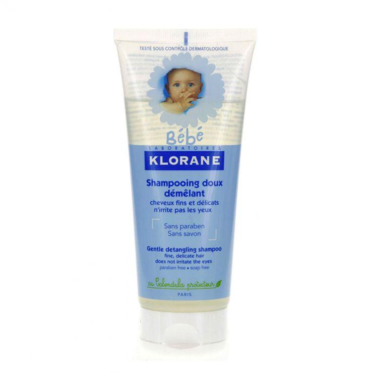 Клоран Бебе Шампунь мягкий для лёгкого расчёсывания волос