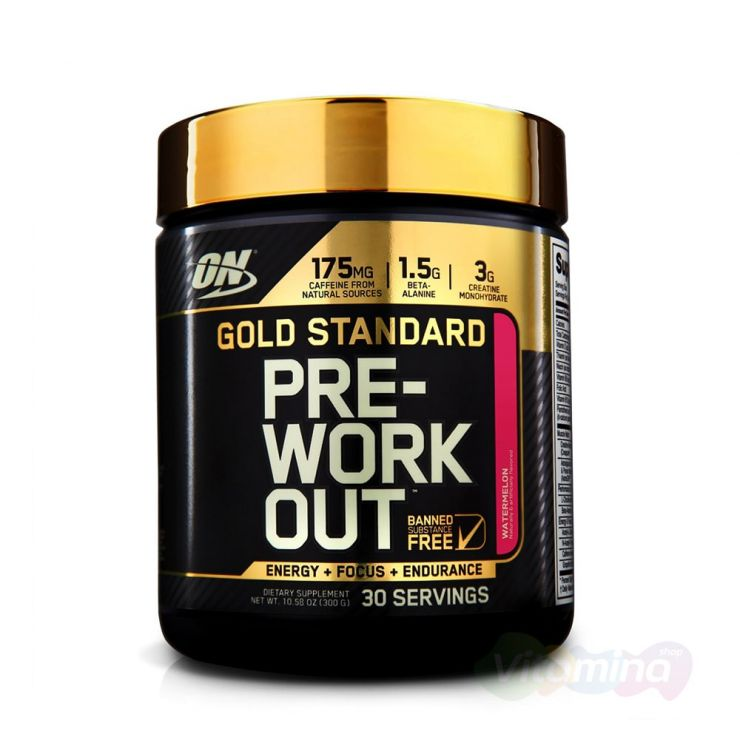 ON Gold Standard PRE-Workout, 30 порций