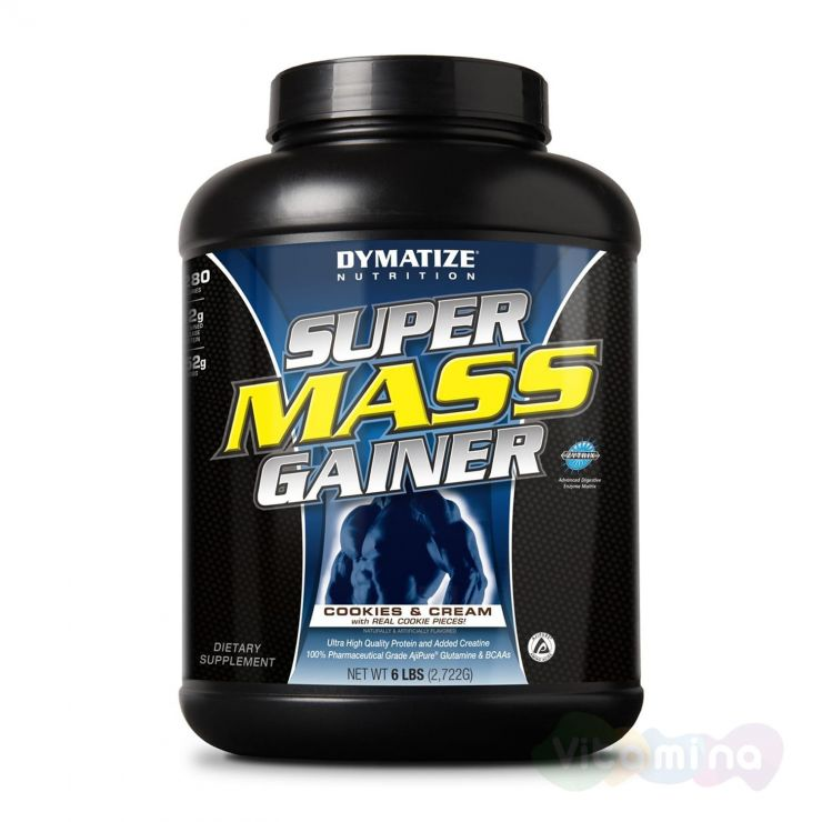 Dymmatize Super Mass Gainer 6 lb (2,72 кг)