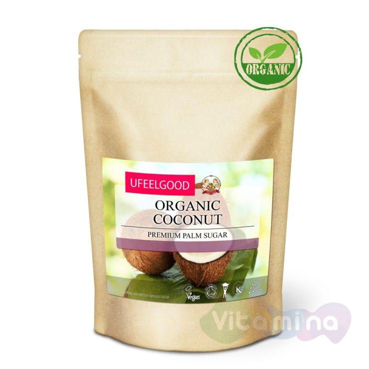 Organic Кокосовый сахар (Premium palm sugar), 200 г
