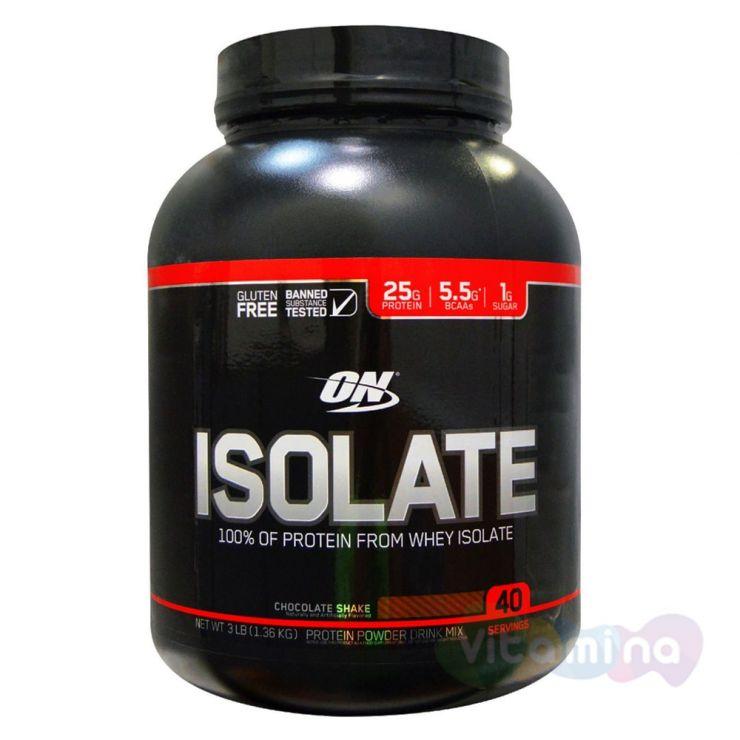 Изолят Optimum Nutrition Isolate GF 3lb (1,36 кг)