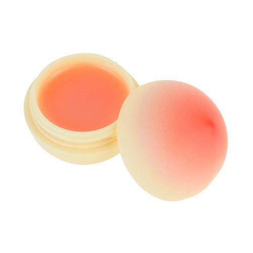 Mini Peach Lip Balm - Нежный бальзам для губ с экстрактом персика