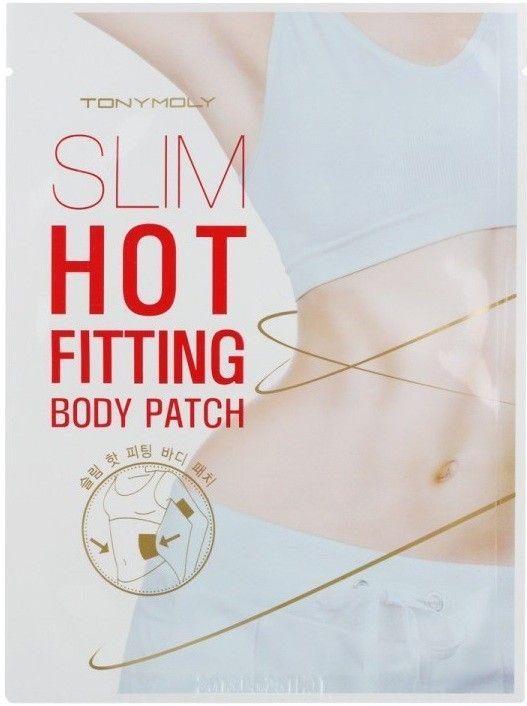 Slim Hot Fitting Patch - Антицеллюлитный пластырь для проблемных зон с разогревающим эффектом