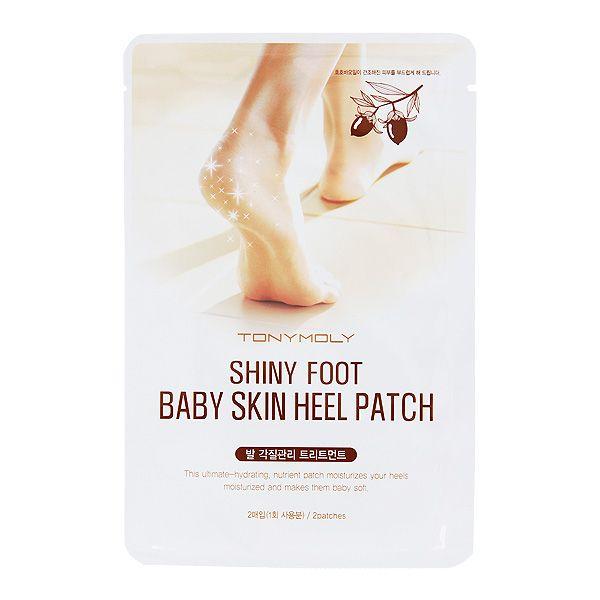 Shiny Foot Baby Skin Heel Patch - Патчи для смягчения загрубевшей кожи пяток.