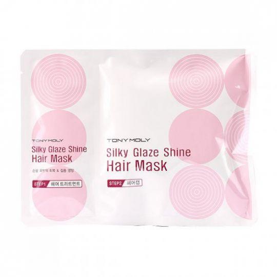Silky Glaze Shine Hair Mask - Маска для волос восстанавливающая