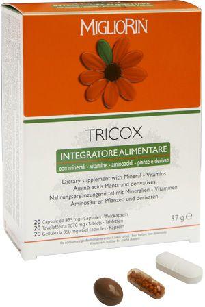 Миглиорин Трикокс, капсулы от выпадения волос