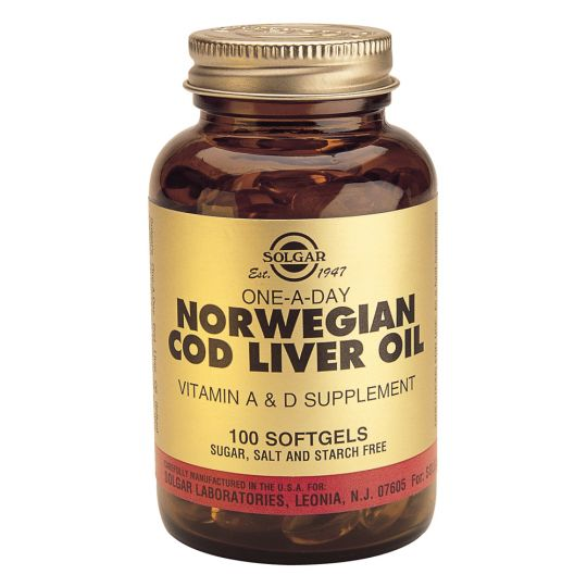 Жир из печени норвежской трески (100 капсул)