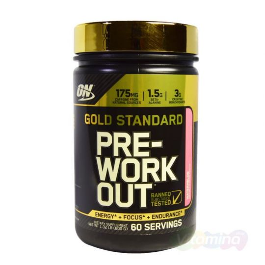 ON Gold Standard PRE-Workout, 60 порций