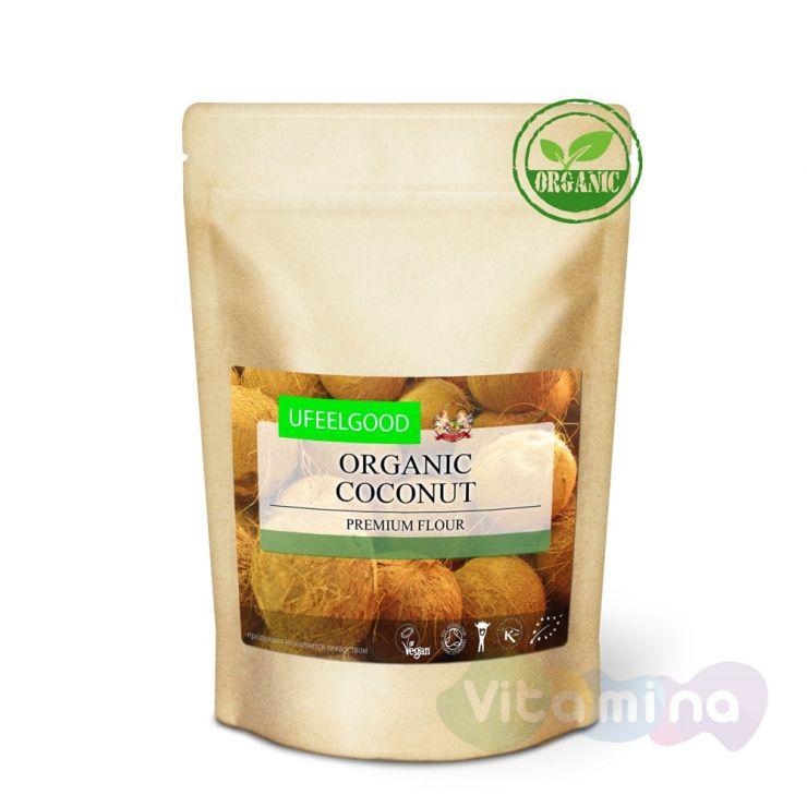 Organic Мука из мякоти кокосового ореха (Organic Coconut premium flour), 200 г