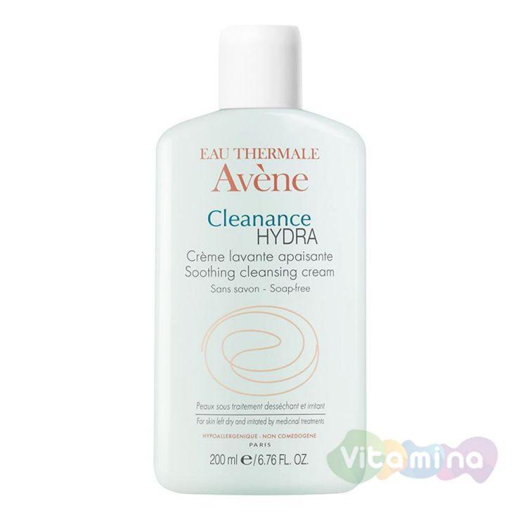 Avene Клинанс Гидра очищающий смягчающий крем для проблемной кожи