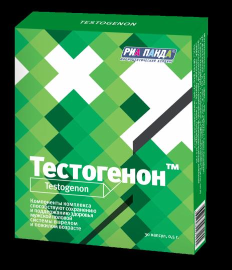 Тестогенон №30 (30 капсул в упаковке)