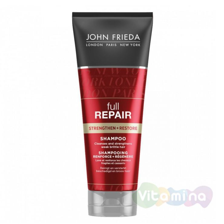 Шампунь укрепляющий и восстанавливающий John Frieda Full Repair