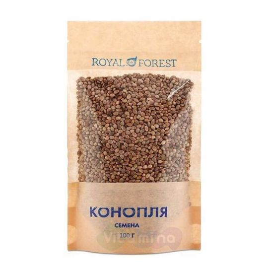 Семена пищевой конопли, 100 г